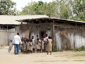 Photo: ici une salle de classe primaire