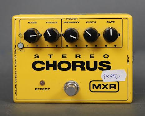 MXR Stereo Chorus USED - Good Condition - No box or PSU