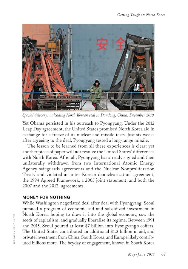 Foreign Affairs Magazine- screenshot