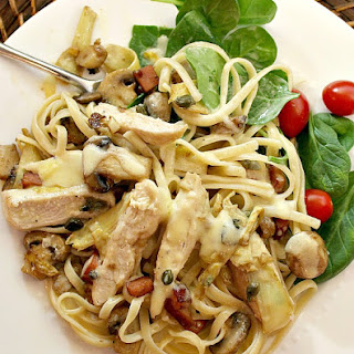 Chicken Scallopini.