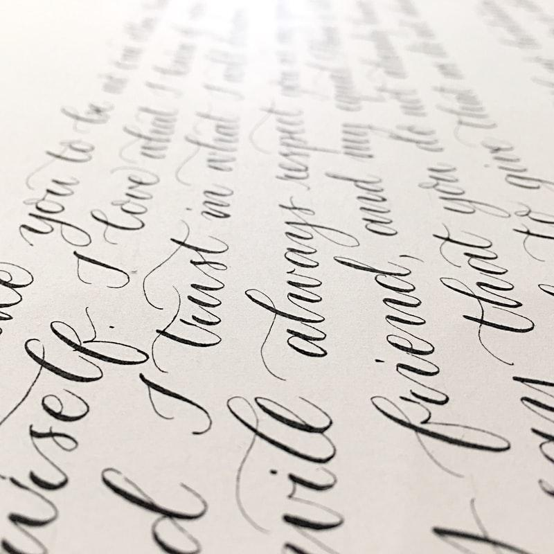 Cursive writing is pretty handwriting that is easy to read while also portraying an incredible visual statement. It is a skill that you can easily start learning today and implement into your note-taking processes + free handwriting worksheets #handwriting #cursivehandwriting #printable #cursive #bulletjournal #notebook