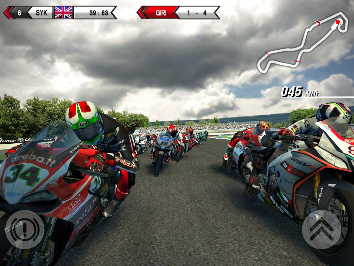SBK15 Official Mobile Game: captura de tela