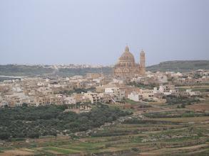 Photo: Blick vom Gigantya Tempel in Gozo