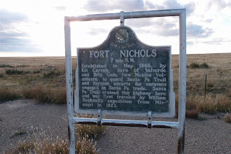 """Photo: The original Santa Fe Trail went up the Arkansas River to La Junta (the junction) and then down towards Trinidad and over Raton Pass. This cutoff was only possible after the Indians were """"pacified""""....."""