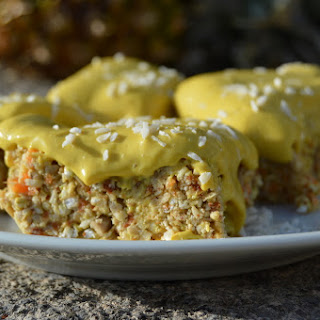 Tropical Lemon Cake – No Bake and Raw.