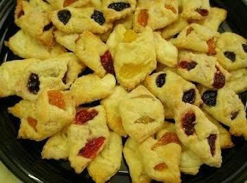 Kolacky-Polish Christmas Cookies.