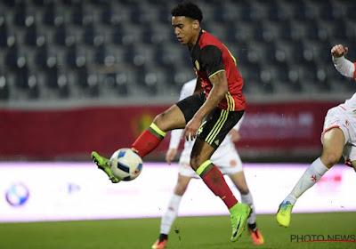 Ryan Mmaee blij met geslaagd debuut en doelpunt in gewonnen match tegen Eupen