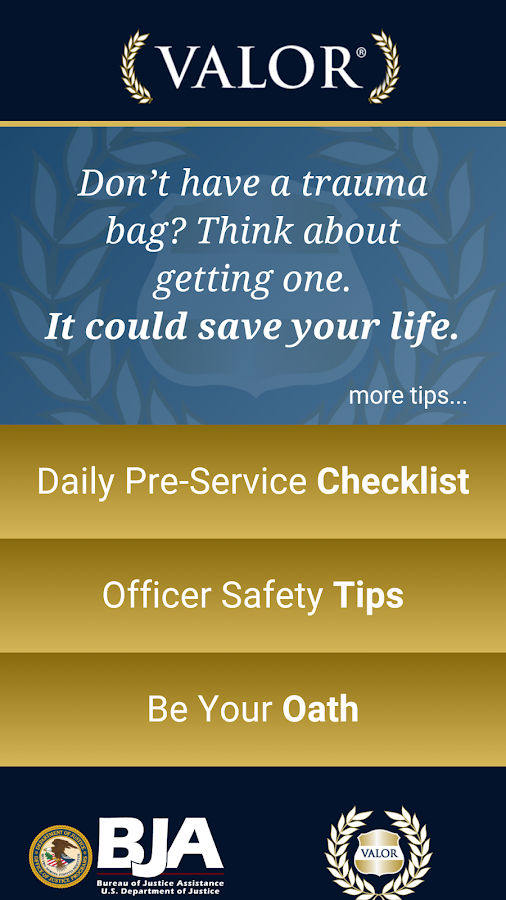 VALOR Officer Safety- screenshot