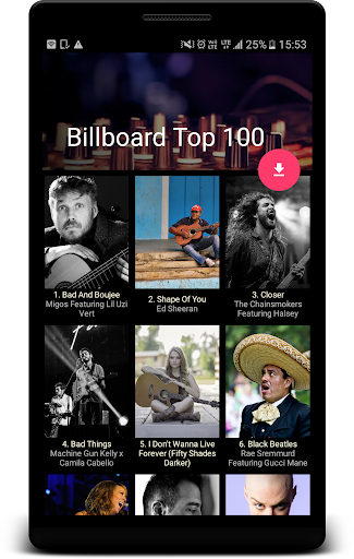 Download Shwaz - Get Billboard Top 100 Google Play softwares
