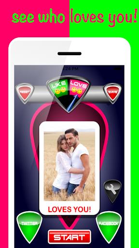Love Detector Face Test 6.1 screenshots 1