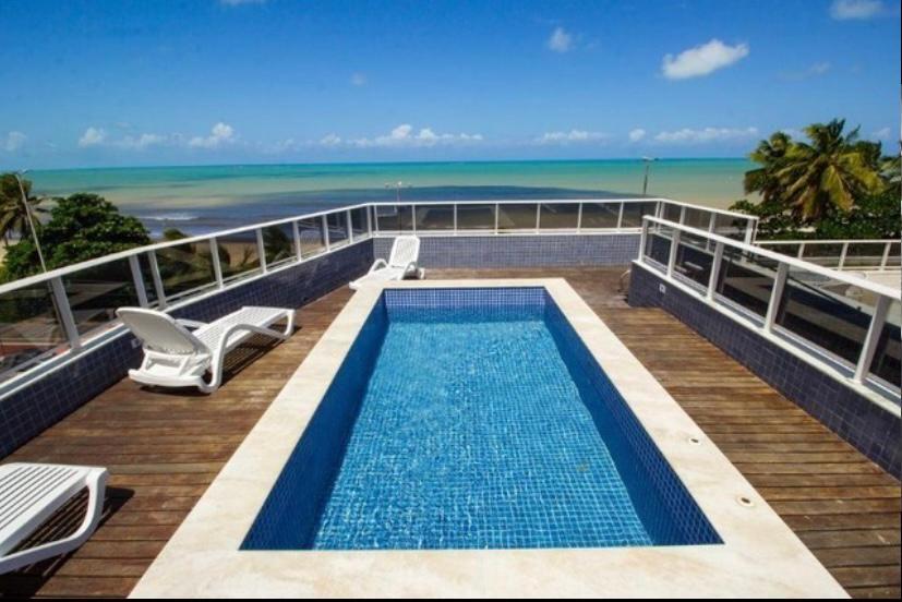 Flat com 1 dormitório à venda, 44 m² por R$ 400.000,00 - Cabo Branco - João Pessoa/PB