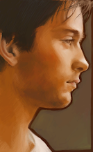 Photo: a portrait of toby maguire (used reference)