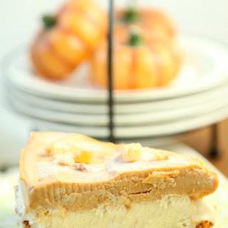 Frosty Pumpkin Ice Cream Pie