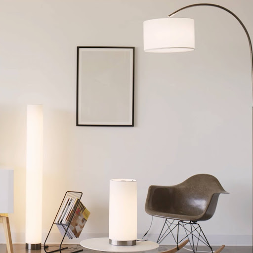 Threshold Ara Large Table Lamp light on image