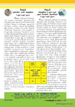 Balajothidam Raasi Palan - 20-6-2017 to 26-6-2017