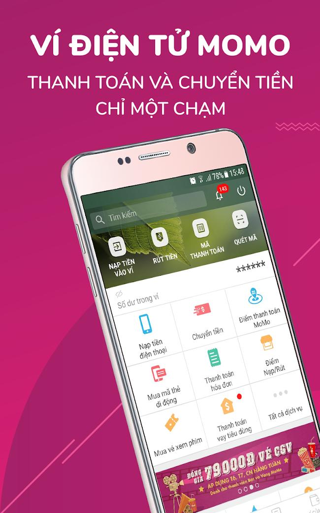 MoMo: Nạp tiền, Chuyển Tiền \u0026 Thanh Toán