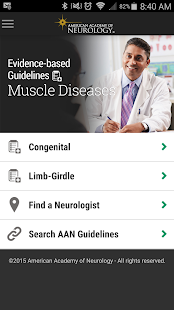 Muscle Disease Guidelines- screenshot thumbnail