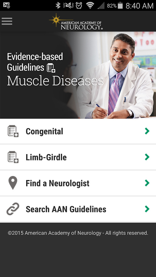 Muscle Disease Guidelines- screenshot