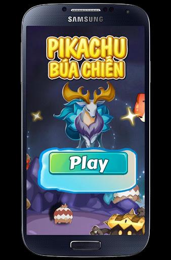 Đại Chiến Pikachu dap chuot
