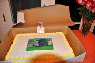 Photo: DC Ashram turned 1 - The birthday cake.