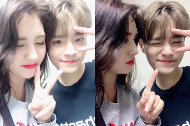 Daehwi dan Somi