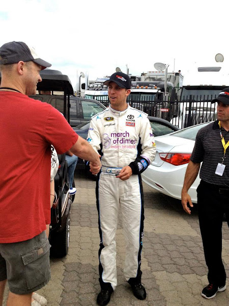 Photo: Meet & Greet with Denny Hamlin.