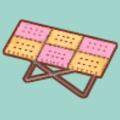 おかしのテーブル(ピンク)