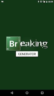 Breaking generator android apps on google play breaking generator screenshot thumbnail urtaz Gallery