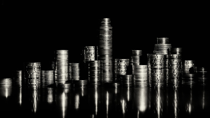 Skyline of coins di Sergio Rapagnà