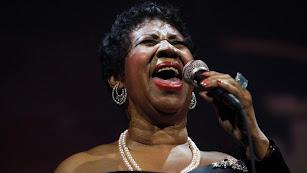 Aretha Franklin, la reina del soul.