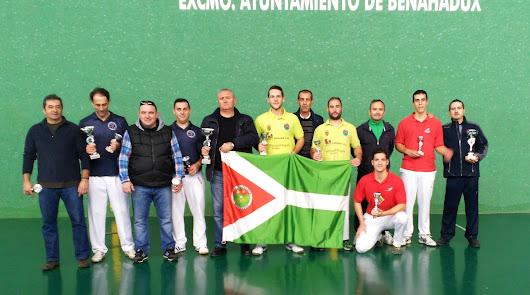 El equipo anfitrión, campeón del Campeonato de Andalucía Pala Corta Absoluto