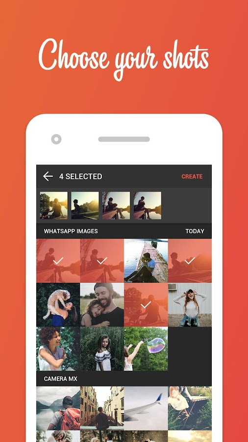 Looparoid – Instant Photo Story in an Animated GIF- screenshot