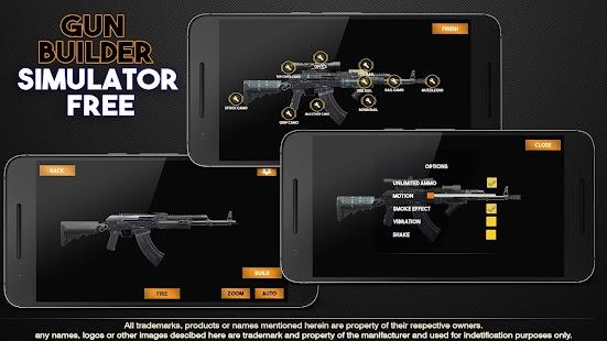 Gun Builder Simulator Free - náhled