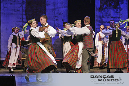 "LITUÂNIA - Folk Ensemble ""SAULE"""