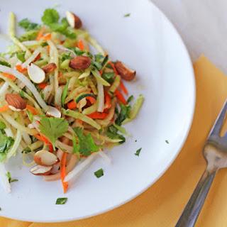 Daikon Carrot Salad with Almonds