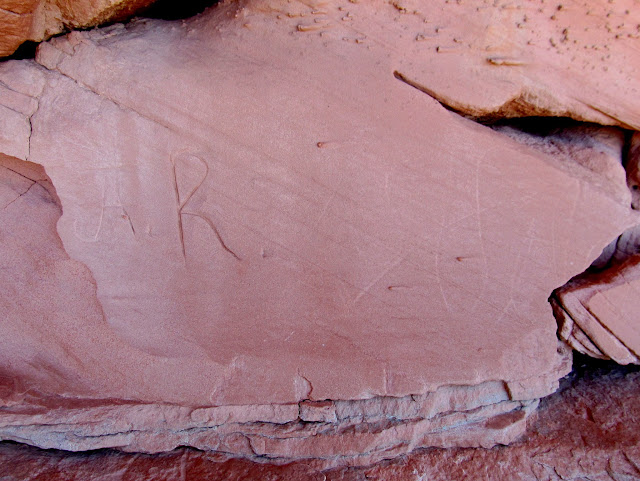 J.A.R. inscription with a possible 1880s date