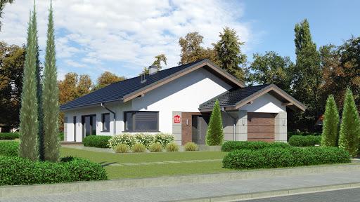 projekt Dom przy Pastelowej 19 D