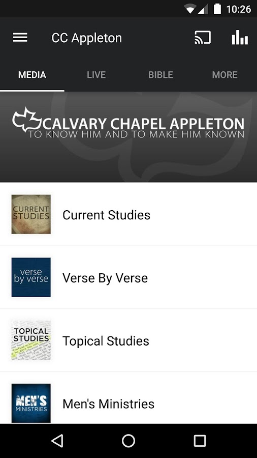 Calvary Chapel Appleton- screenshot
