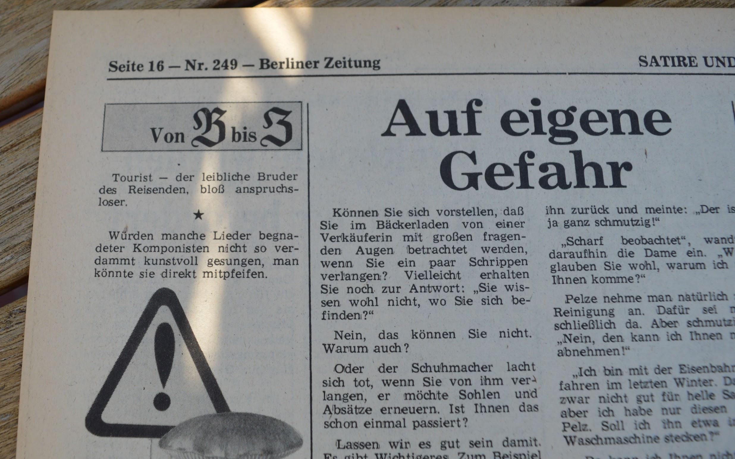 Berliner Zeitung (Ost-Berlin) 21.10.1979
