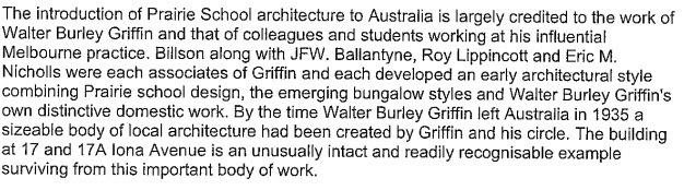 Prairie School Architecture in Australia