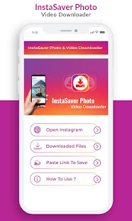 App InstaSaver Photo & Video Downloader for Instagram APK for Windows Phone