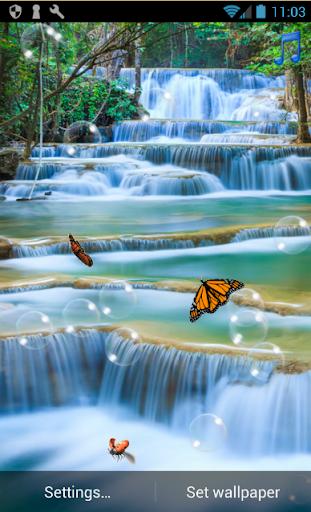 Waterfall Live Wallpaper Aplikasi Di Google Play
