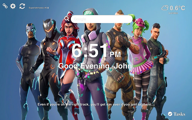 Teknique Fortnite Wallpapers New Tab