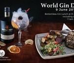 World Gin Day - Bottomless Gin : Carbon Bistro