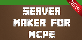 Server Maker For Minecraft PE