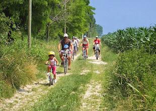 Photo: Giro in bicicletta nelle terre dei Magredi