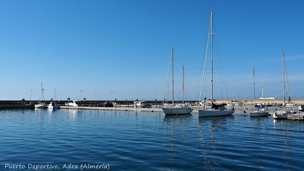 Puerto Deportivo de Adra.