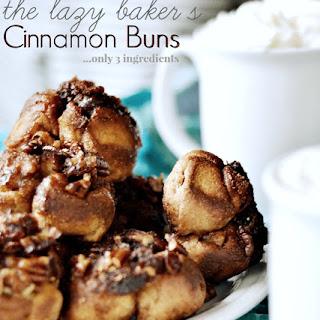 Lazy Baker's Cinnamon Buns.