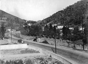 Photo: Rua Barão do Rio Branco. Foto da década de 30