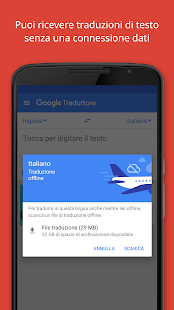 Google Traduttore- miniatura screenshot